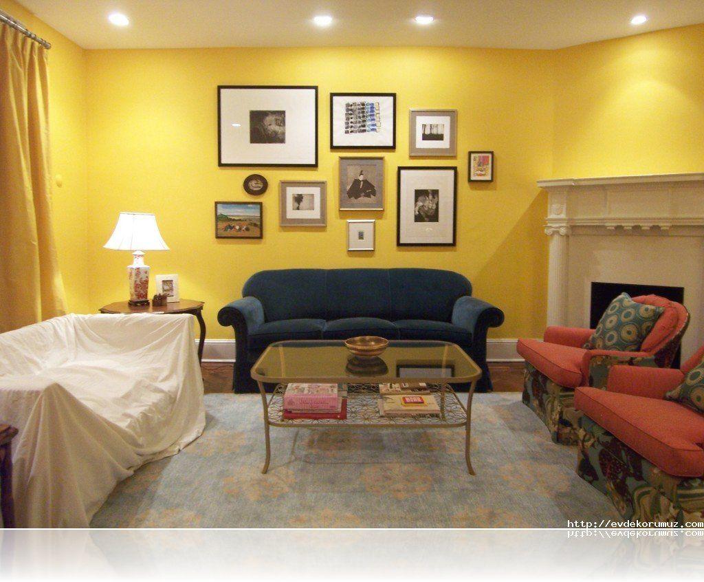 Son Moda Oturma Odası Renkleri | ev dekor | Pinterest