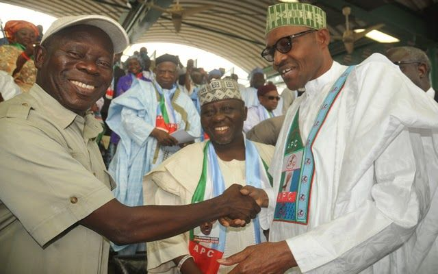 Buhari's certificate better than the man who has PhD in Zoology - Oshiomhole