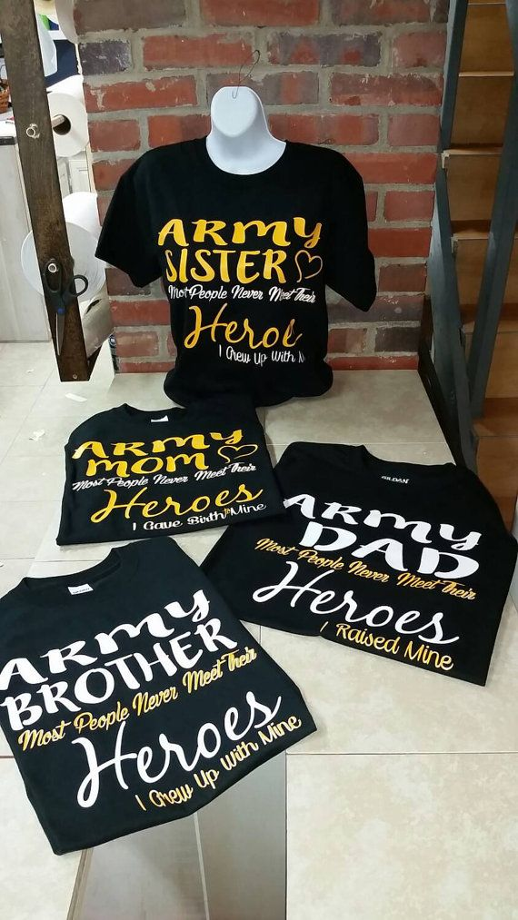1b33285a Army. family day. Graduation. Soldier pride tee sets. Army dad. Army ...