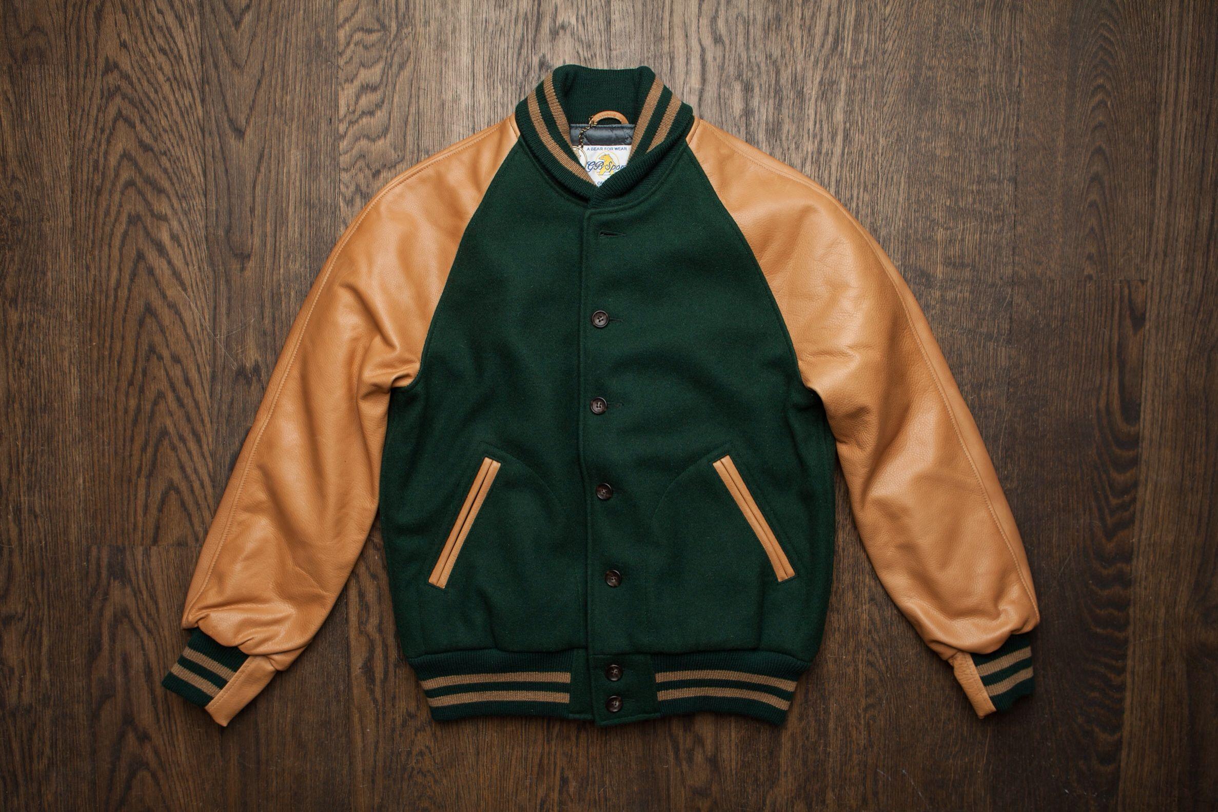 JacketMenswear Icons Golden Varsity Bear m0yvN8wOn