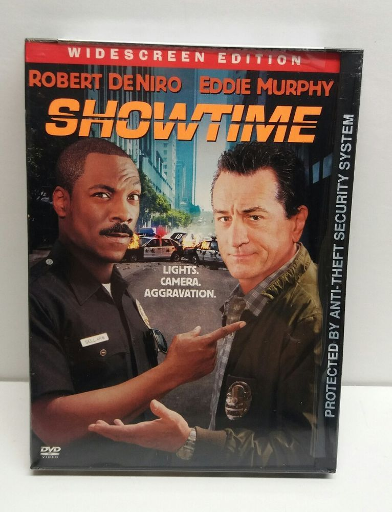 Showtime Dvd 2002 Widescreen Dvd Eddie Murphy Showtime
