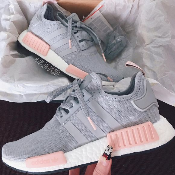 best service wholesale outlet purchase cheap adidas Originals NMD - grau pink/ grey pink // Foto ...
