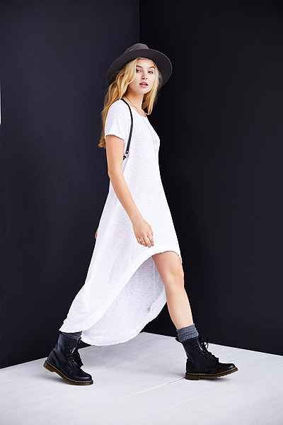 Truly Madly Deeply Graphic High/Low Tee Dress - Urban Outfitters