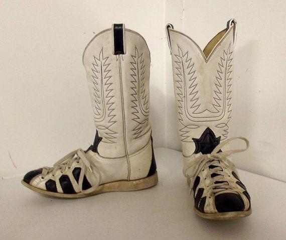 Unique Tony Lama cowboy boots running shoes ---- size 10.5 D or ...