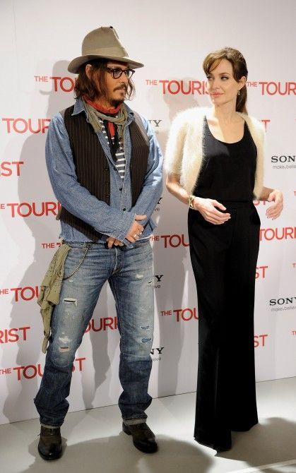 Angelina Jolie And Johnny Depp Com Imagens Johnny Depp