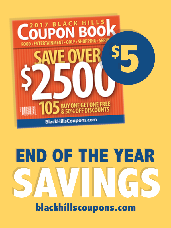 Black Hills Coupon Book On Sale Now For Only 5 Offers Valid Through The End Of The Year Get Yours Today And Save Big Black Hills Coupon Book Coupons