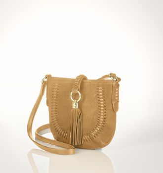 Indian Cove Suede Cross-Body