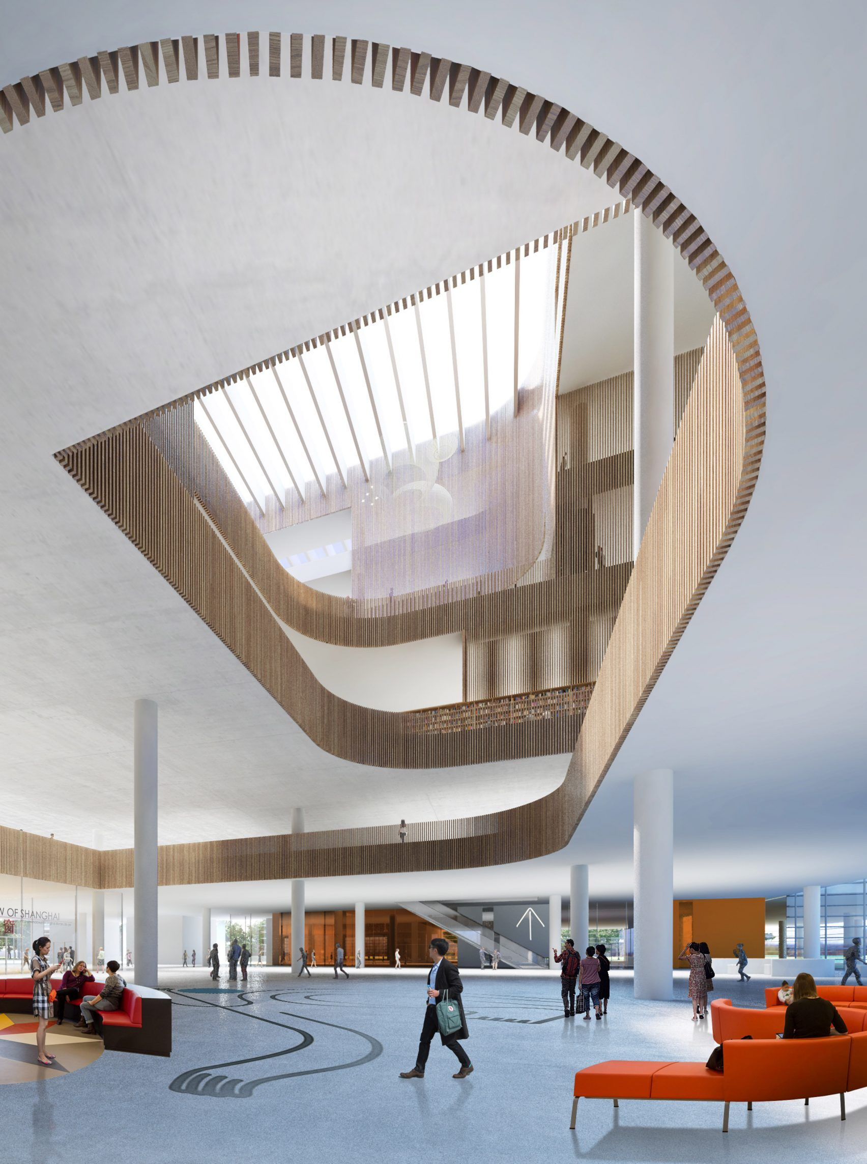 Schmidt Hammer Lassen Architects wins Shanghai Library competition