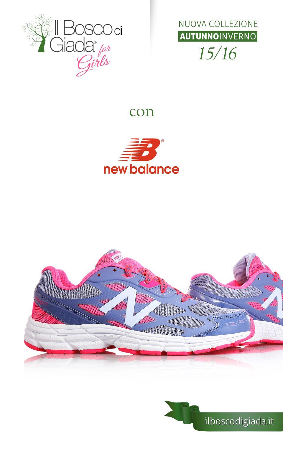 new balance running bambini