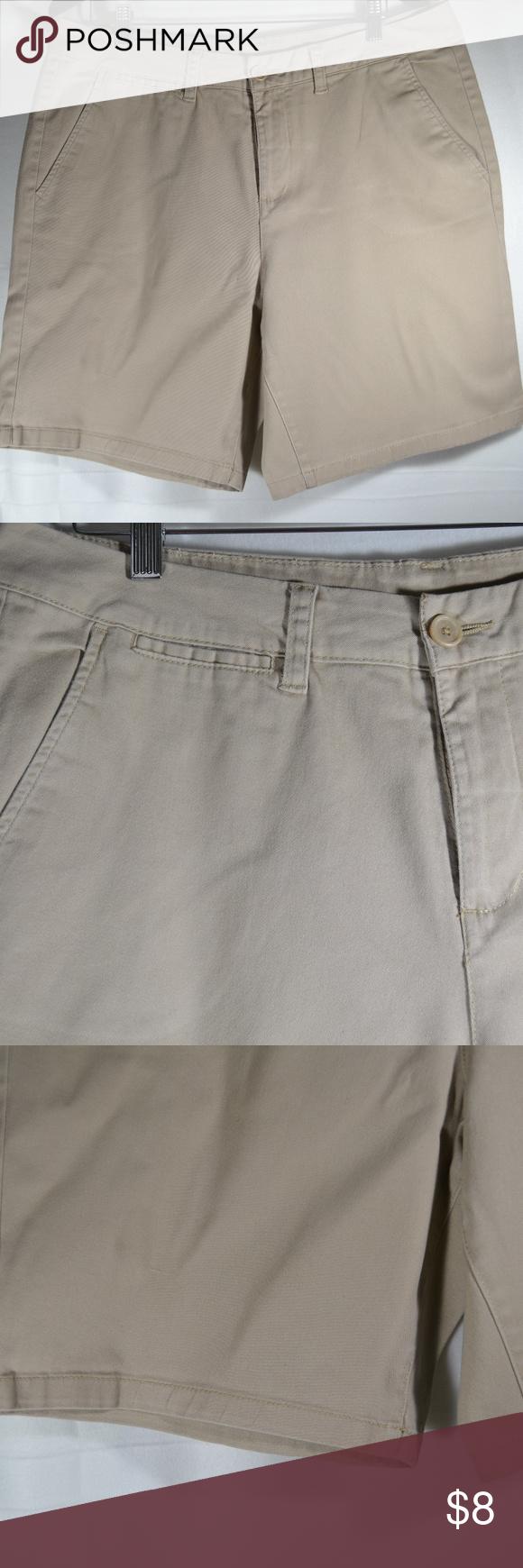 ec439b05cd2 White Stag Bermuda Classic Khaki shorts Pants White Stag Women s Flat Front  Bermuda Classic Khaki shorts