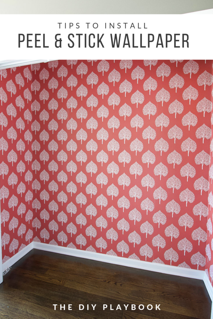 Tips To Install Peel And Stick Wallpaper Diy Playbook Peel And Stick Wallpaper Diy Playbook Diy Wallpaper