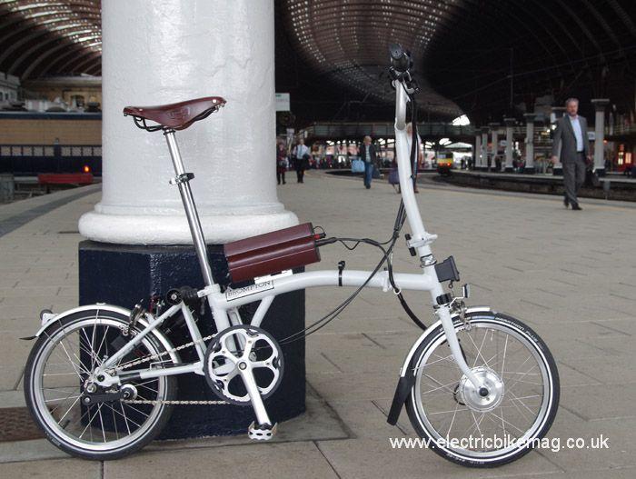 Bespoke E Bikes Converted Brompton Bike Lights Led Bicycle Lights Bicycle