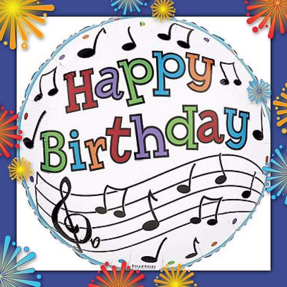Hle Radio On Twitter Happy Birthday Music Notes Happy Birthday Music Birthday Greetings For Facebook