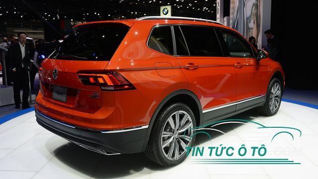 Volkswagen Tiguan 2018 Suv Gia đinh 7 Chỗ Ngoai đời Thực Volkswagen