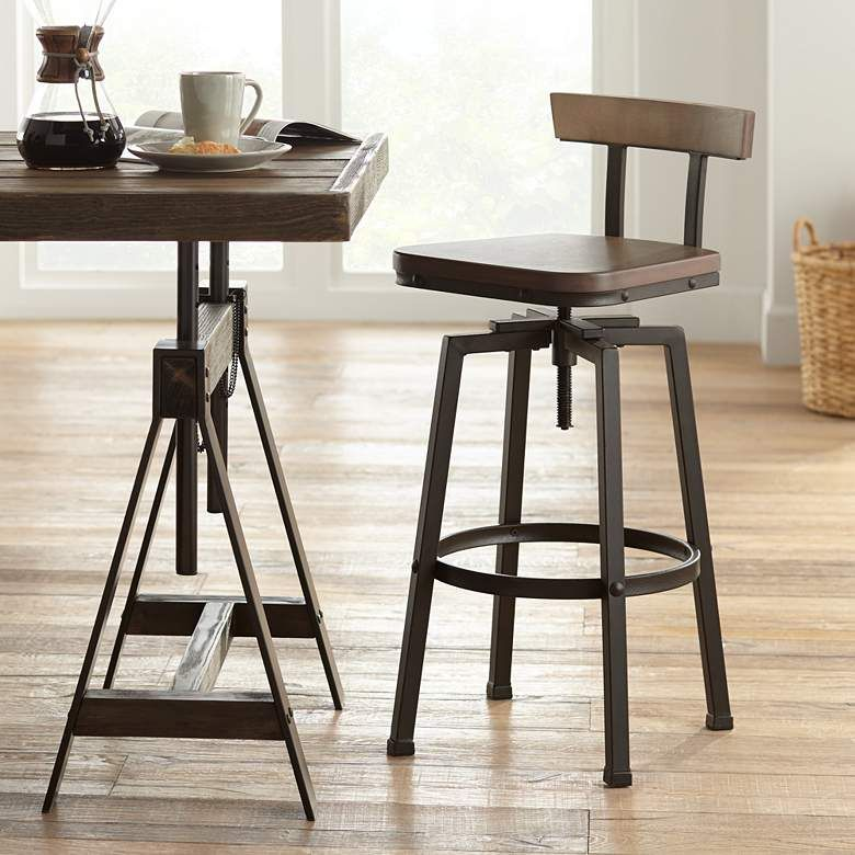 Lamps Plus Swivel Counter Stools