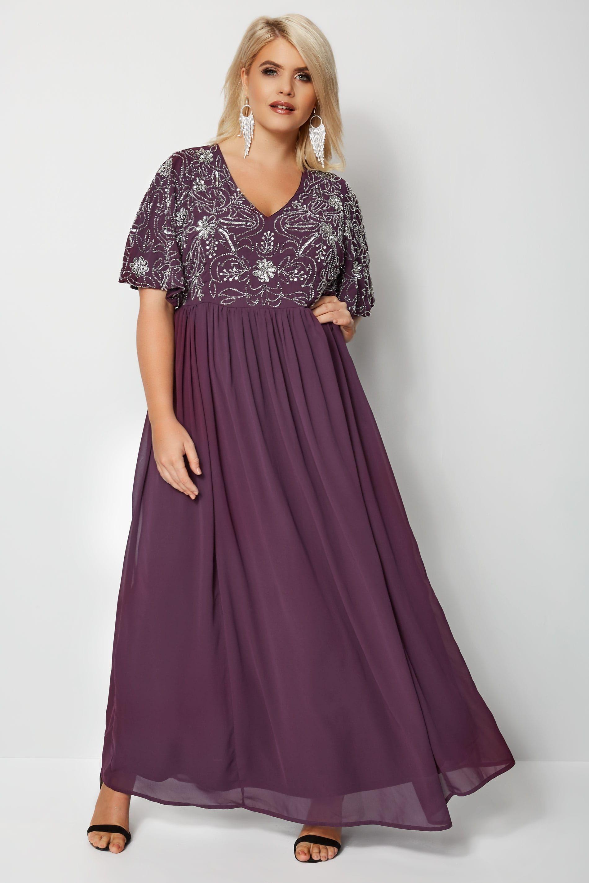 8fa7b9591f3 Embellished Maxi Dress Size 16 | Huston Fislar Photography