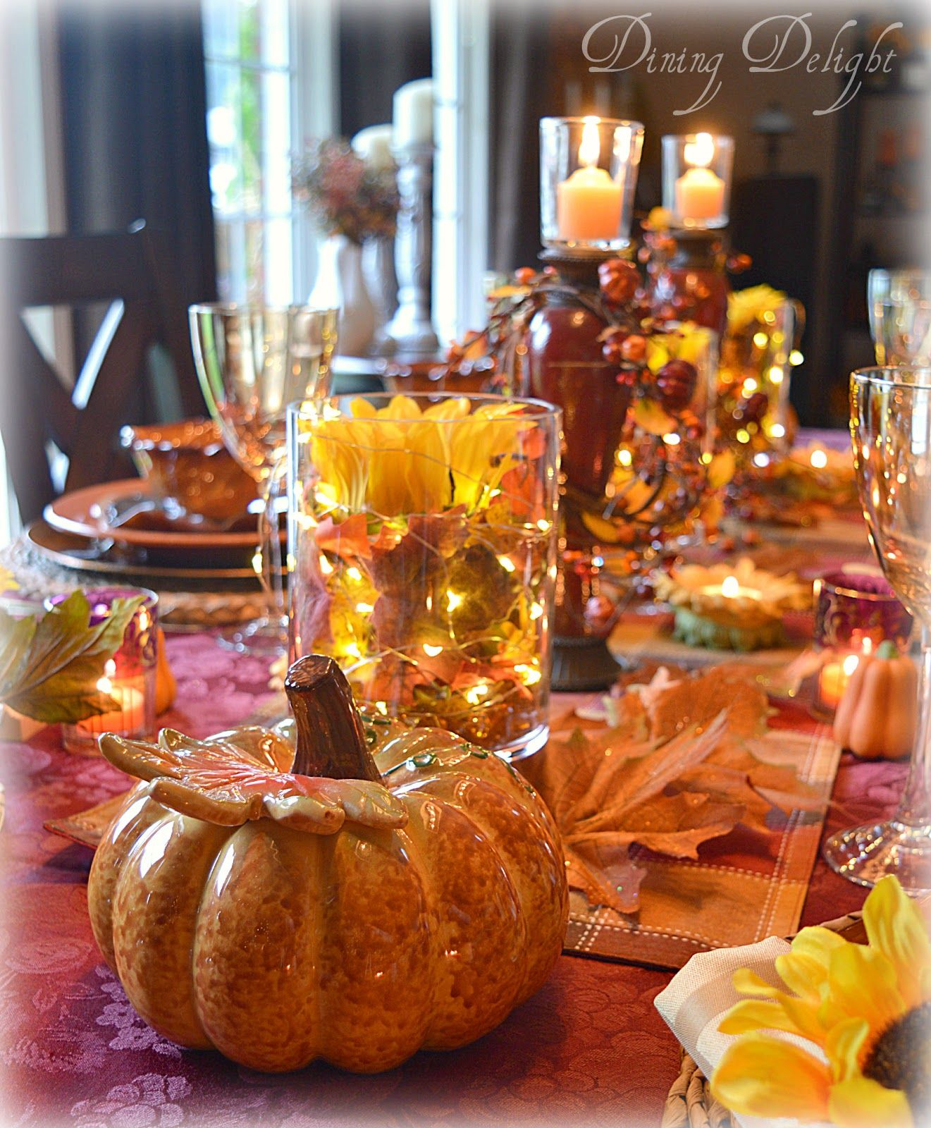 Last weekend, we celebrated Thanksgiving with a special ...
