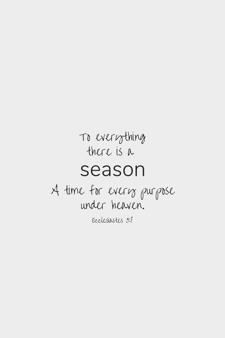 Seasons — F A I T H wins