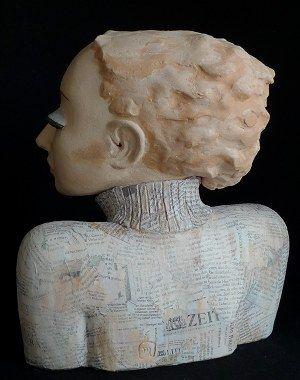 skulptur mit der zeit noga pinterest skulptur b ste und keramik kunst. Black Bedroom Furniture Sets. Home Design Ideas