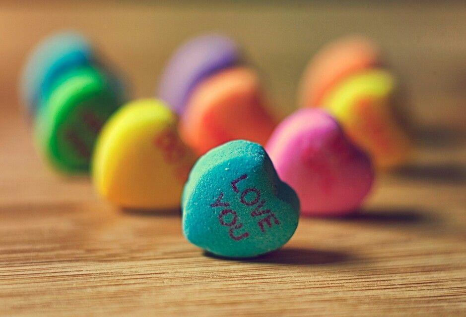 Kleurrijke hartjes