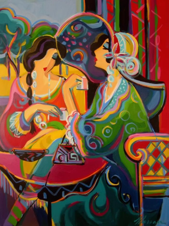 Afternoon Tea by Bernard Maimon