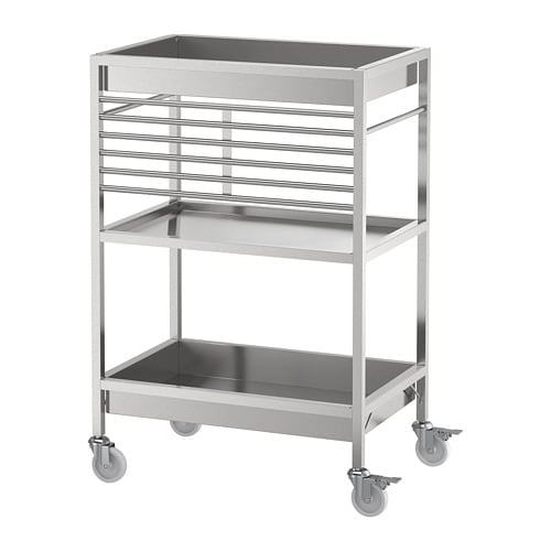 IKEA KUNGSFORS Stainless Steel Kitchen cart in 2019 ...