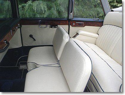 Daimler Ds420 Limousine Limousine Car Seats