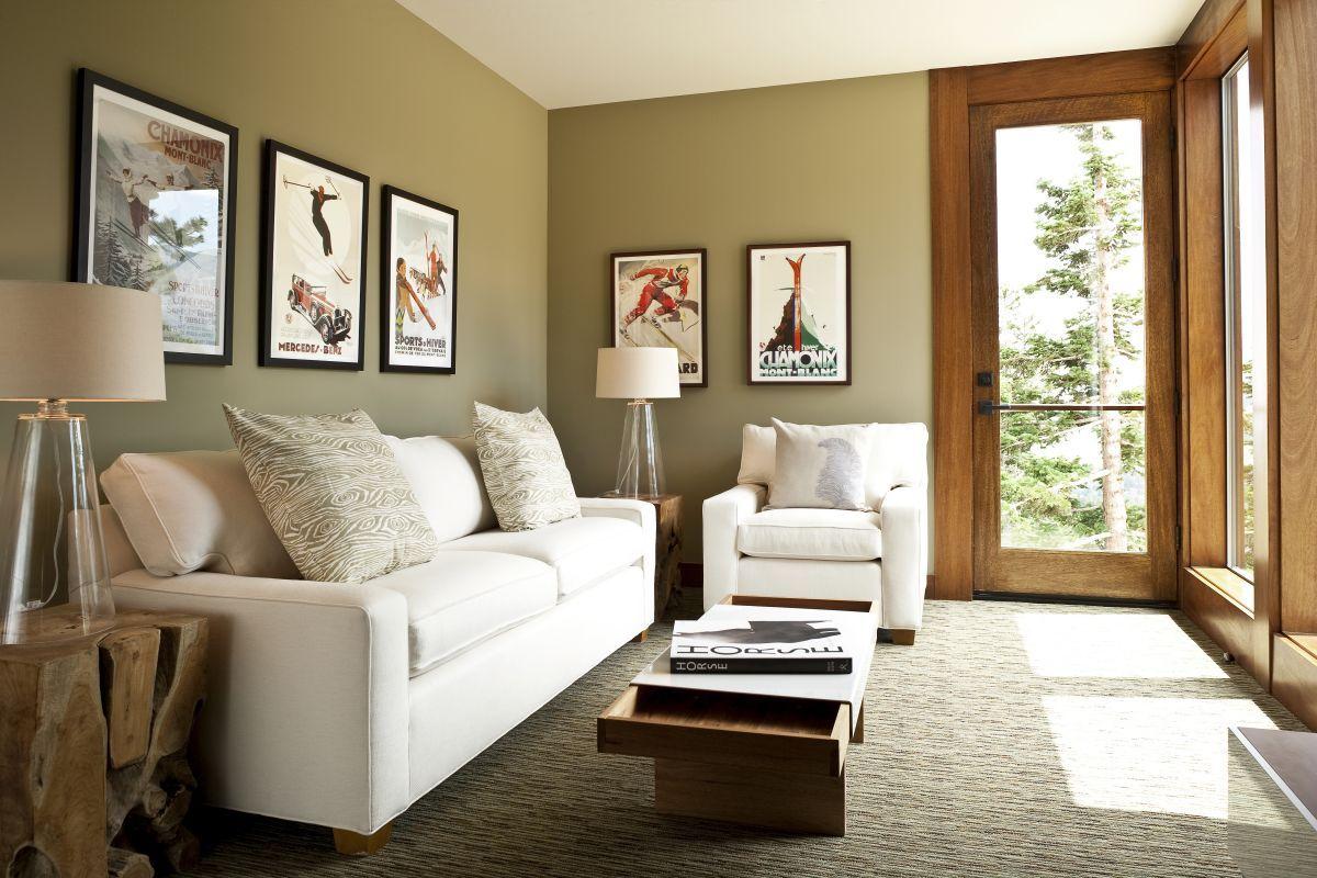 Frame Decor Examples For Living Room Modern Living Room