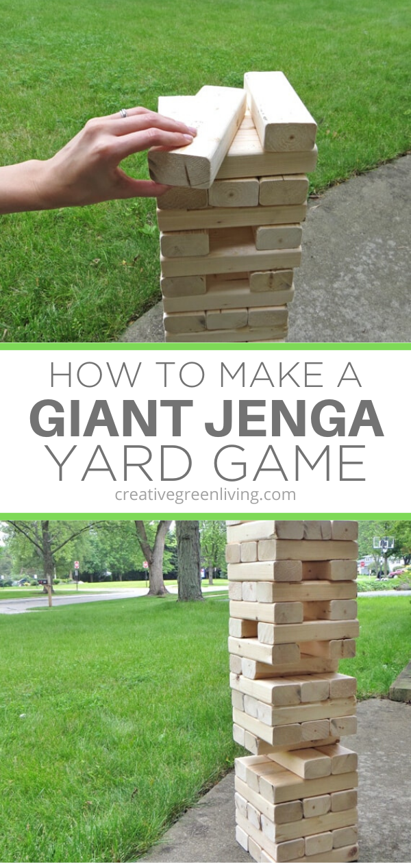 How to Make a Giant Jenga Yard Game in 2020 (With images ...