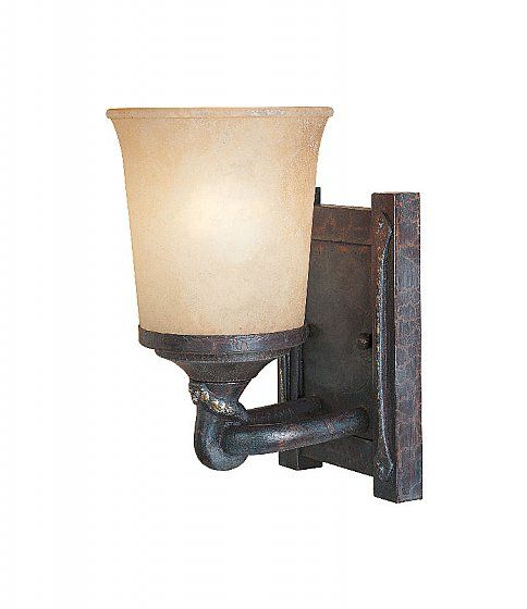 Photo of Designers Fountain 97302 Austin Rustic / Country Two Light Down Lighting 1Wide Bathroom Fixture
