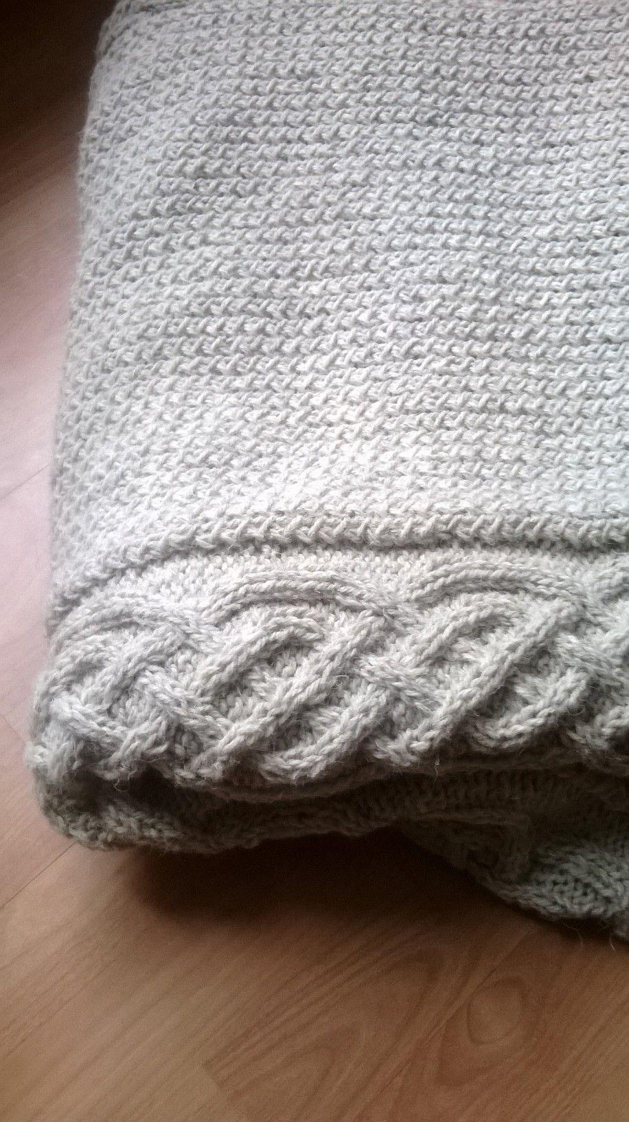 The Ragnar Blanket | Pinterest | Dos agujas y Cubrecamas