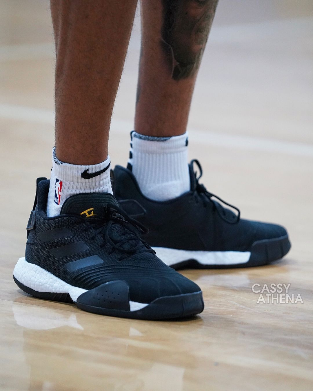 reputable site f54aa a4493  kellyoubrejr working on his game in the  adidas TMac Millennium. Thoughts  on this new TMac model   KicksOnCourt  NiceKicks 📷…