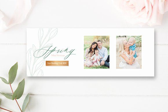 Spring Minis Facebook Cover by By Stephanie Design on