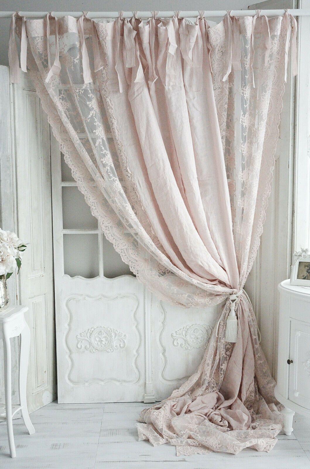 gardine gardinenschal schleifengardine