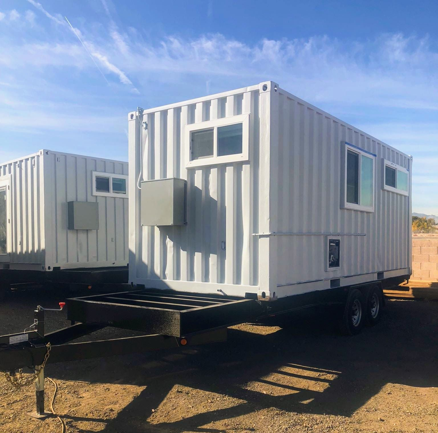 Container Homes On Trailers In 2020 Tiny House Trailer