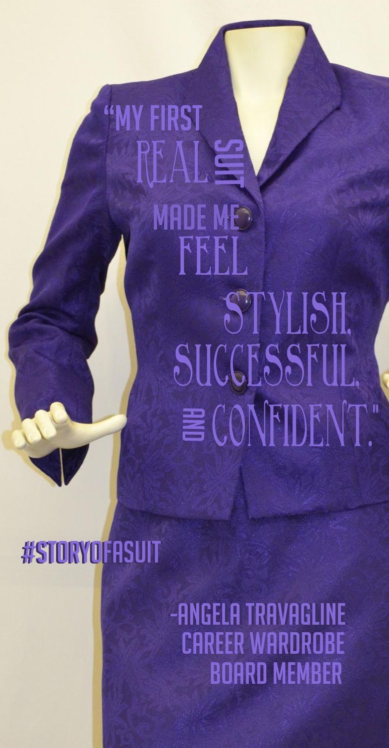 How did your first suit make you feel? Tell us & consider making a donation to help another woman feel the same. #StoryofaSuit #JobRaising