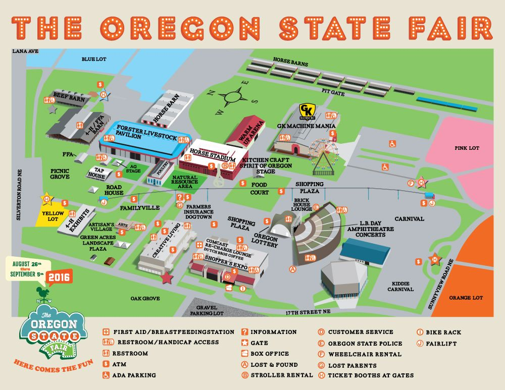 Fairgrounds Map | Fun | Pinterest | Salem oregon