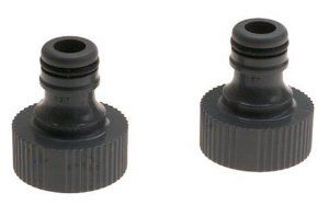Gardena 36002 Garden Hose Quick Connector 2 Pack By Gardena 9 53 Use To Connect Gardena Hose End Accessories Original G Garden Hoses Uv Resistant Nozzles