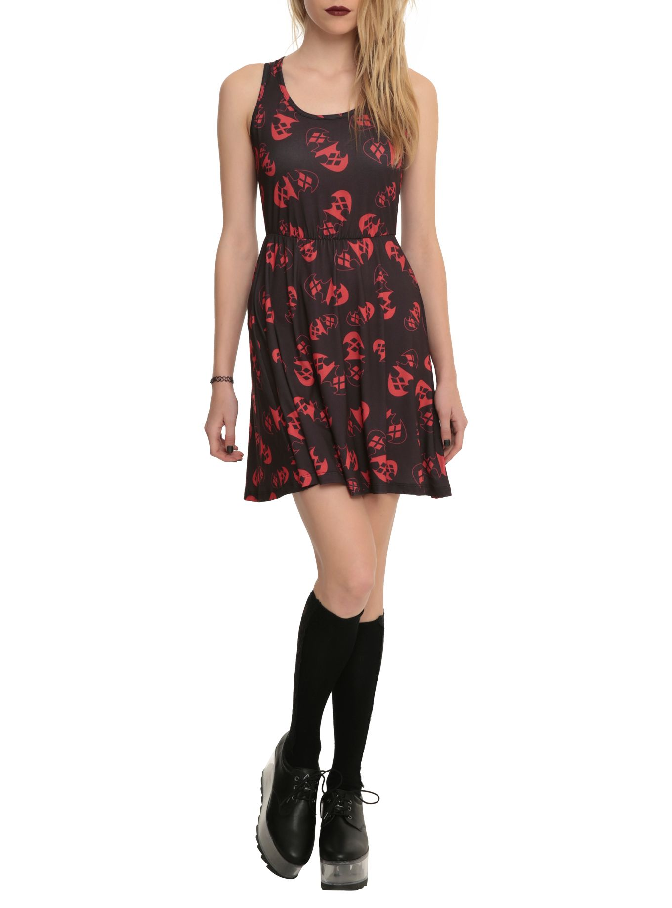 Falling hard for this harley quinn dress want want want please