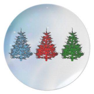 christmas melamine christmas melamine dinner plates
