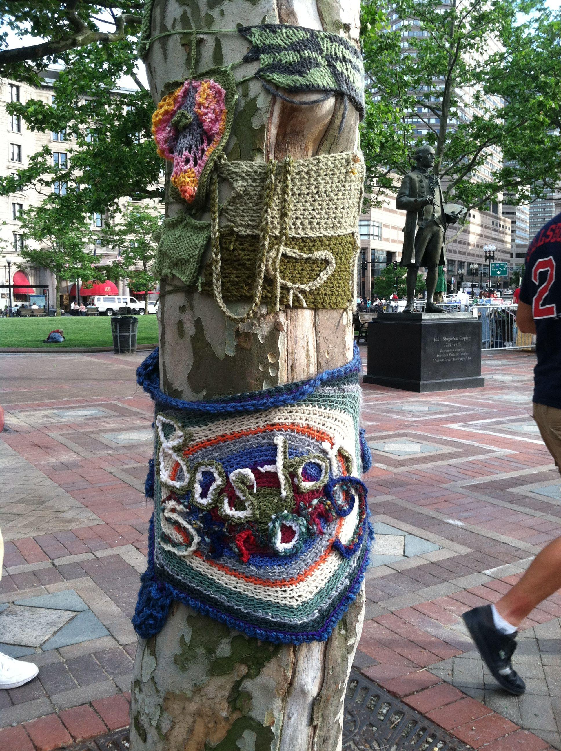 Yarn boom - Boston Strong