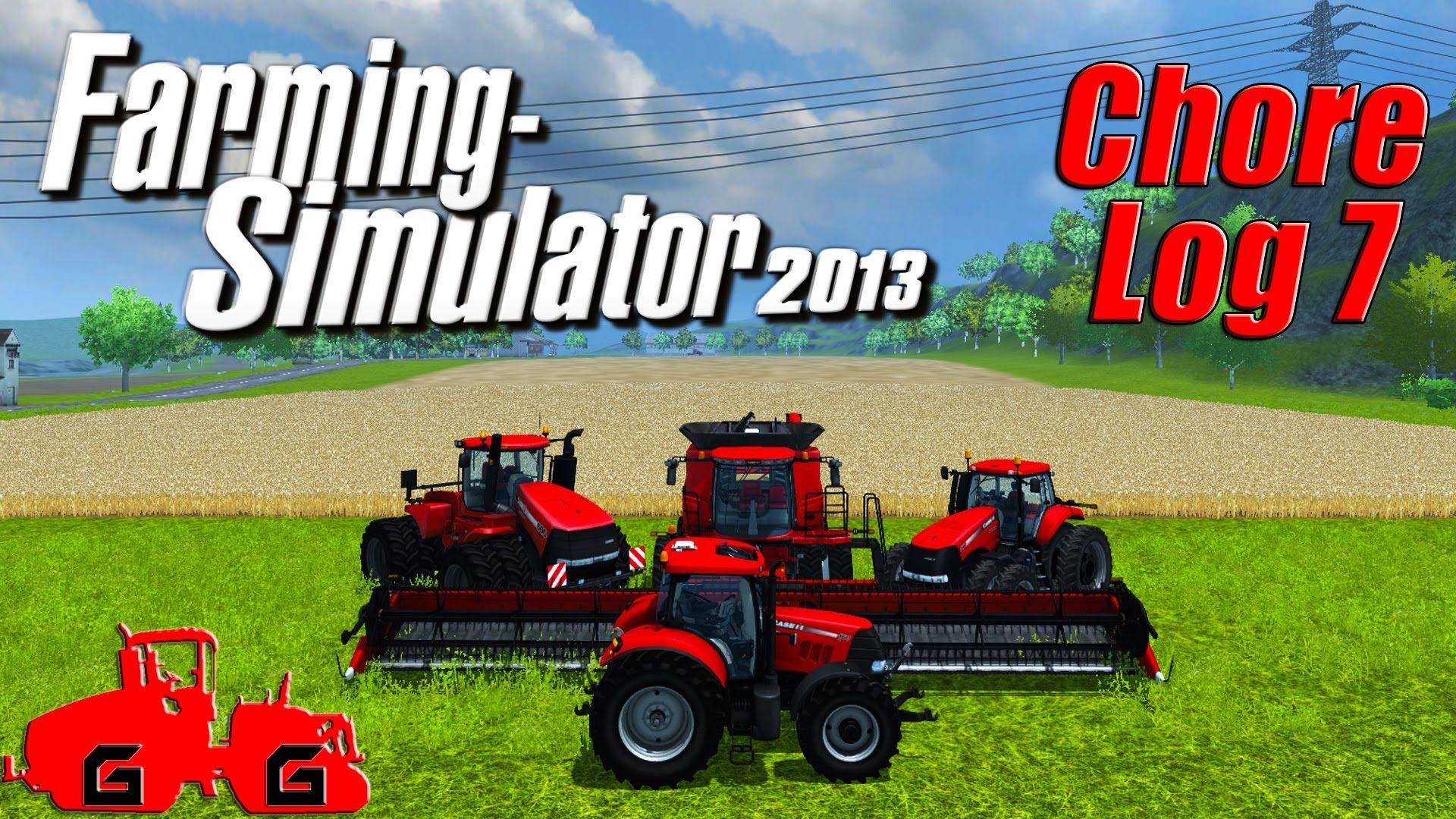 Farming Simulator 2013: Chore Log 7 - Tractor Sale! | evan