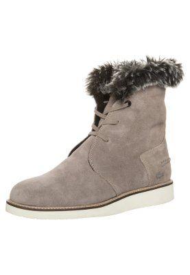 Lacoste Baylen Vinterstovler Gra Zalando Dk Boots Lace Up Boots Lacoste
