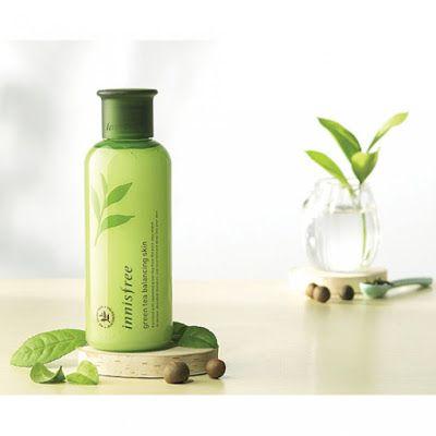 أسرار نساء كوريا Innisfree تونر الشاي الأخضر لموازنة البشرة Skin Tea Shampoo Bottle Bottle