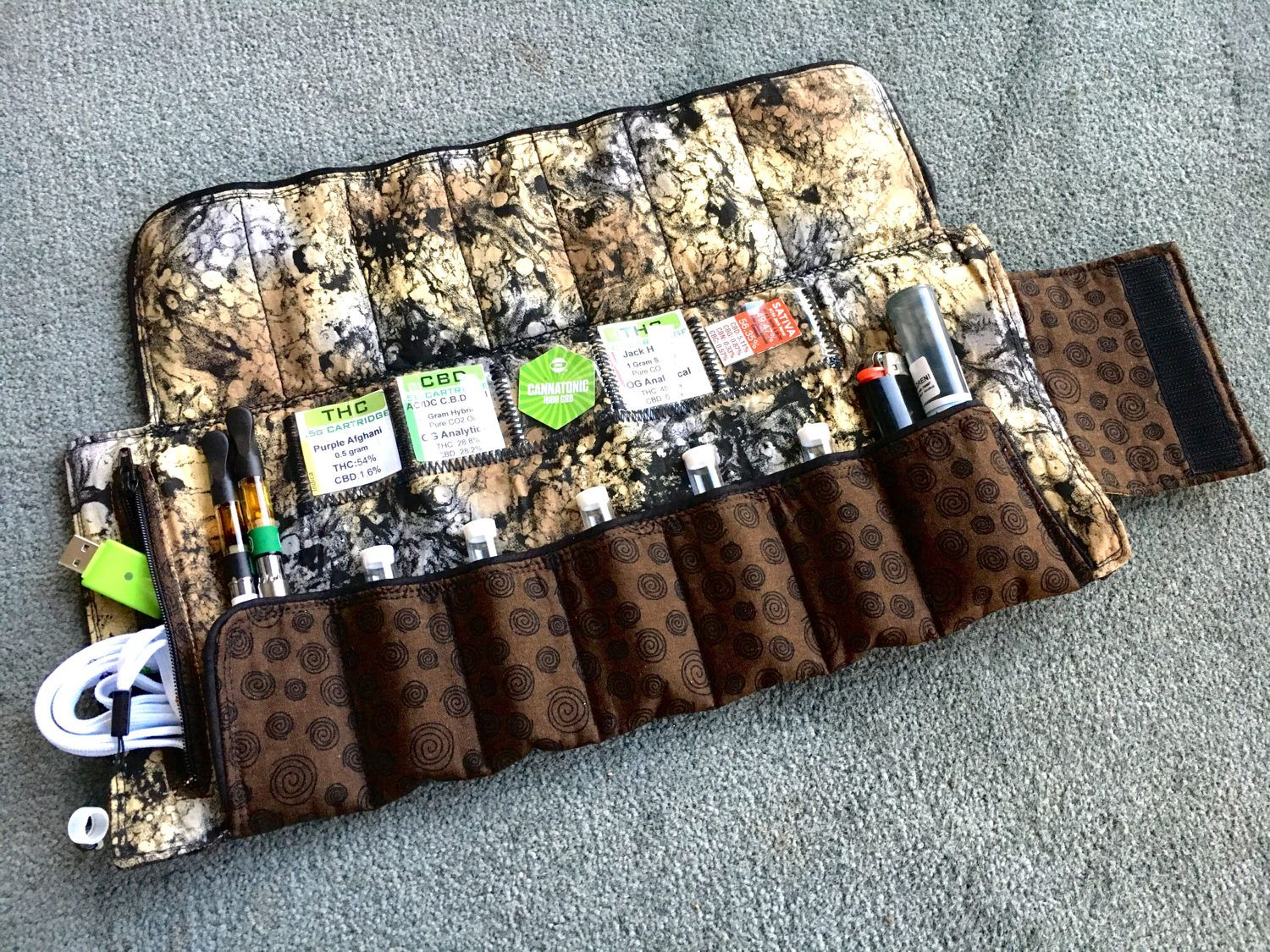 Vape pen cartridge storage case bag Organjanizer© | Do you