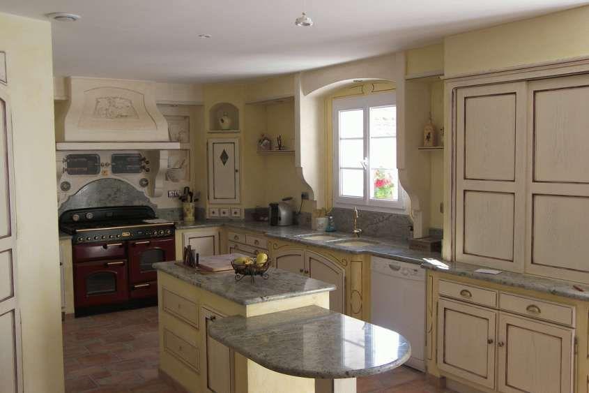 Le cucine in muratura - Colori cucina in muratura country   Kitchen ...