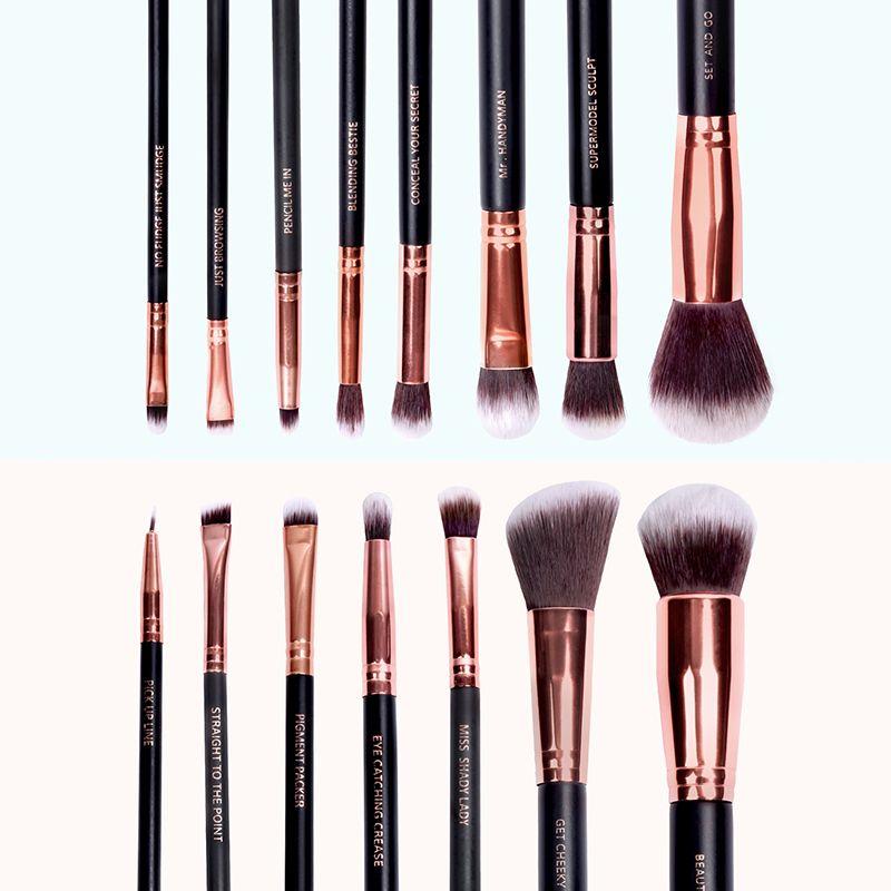 Lux Vegan Makeup Brush Set   CRUELTY FREE MAKEUP BRUSHES