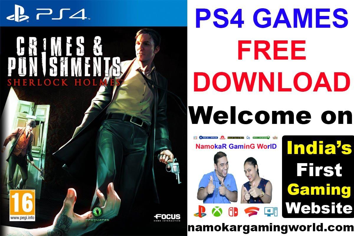 Sherlock Holmes Crime & Punishments (PS4) Free Download