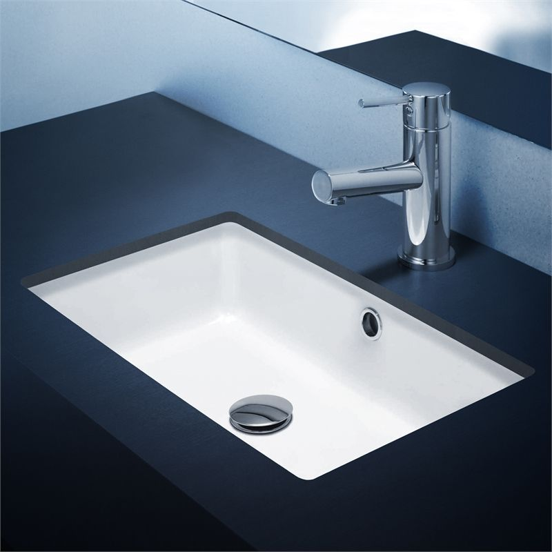 Basin Undercounter Cube 500 Wh Regent 683455w Fowler Easy To Keep Clean!