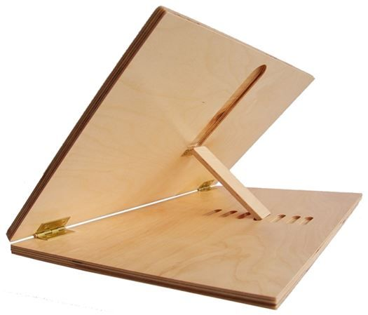 Photo of Adjustable Wooden Writing Slope, Large 24″